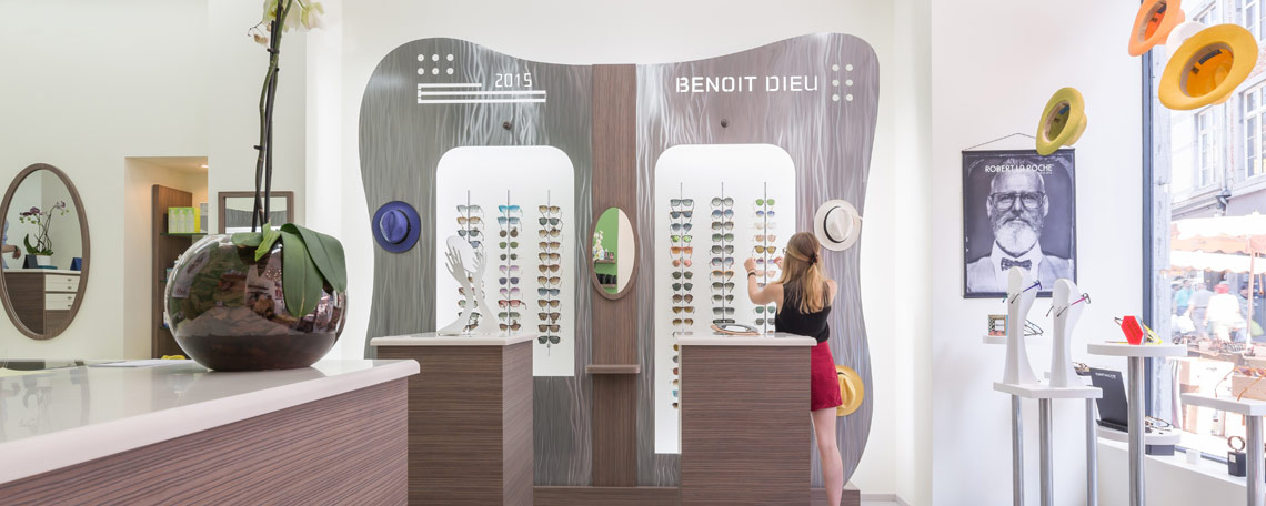 Benoit Dieu Opticiens in Namur - Belgique