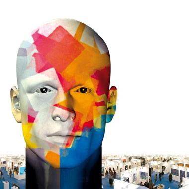 Salon d'art contemporain à Nantes