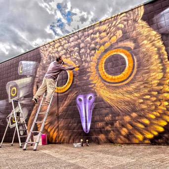 Street art 2017 Grenoble