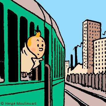 Musée Hergé Tintin LLN 2019