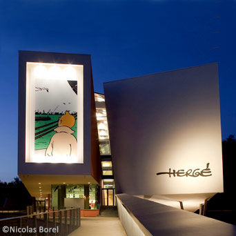 Musée Hergé Louvain-la-Neuve Tintin
