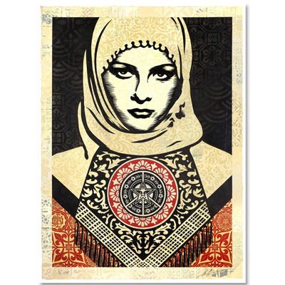 Shepard Fairey Obey Grenoble 2019
