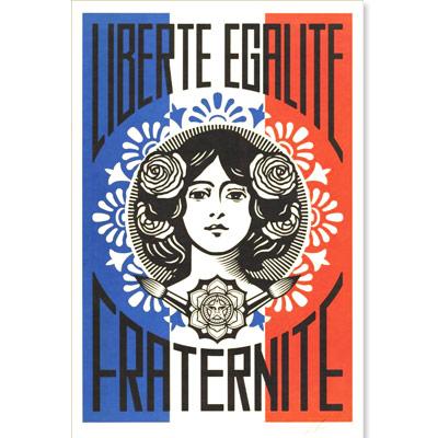 Shepard Fairey Obey Liberté 2019 Grenoble