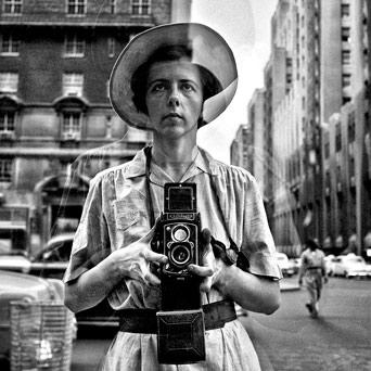 Vivian Maier autoportrait Grenoble